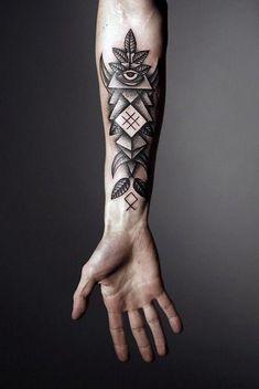 beau tatouage homme avant bras