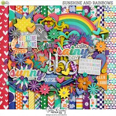Sunshine and Rainbows by Bella Gypsy Designs