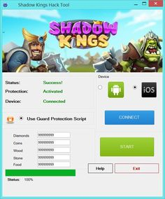 Shadow kings Hack Tool No Survey Free Download (Android | IOS)