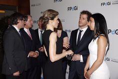 SSMM los Reyes Felipe VI y Letizia en la entrega de los Premios Princesa de Gerona.  01-07-2016