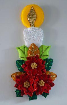 Popular ideas for diy christmas stocking felt applique Clay Christmas Decorations, Felt Christmas Ornaments, Felt Crafts, Christmas Stockings, Christmas Diy, Diy And Crafts, Christmas Crafts, Felt Ornaments Patterns, 242