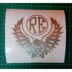 royal enfield custom RE and eagle stickers