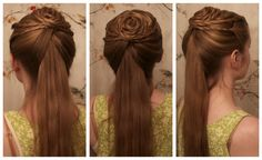Game of Thrones: Easy & Simple House Tyrell HandMaid Inspired Hairstyle.