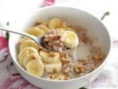Savory Breakfast, Sweet Breakfast, Breakfast Bowls, Breakfast Recipes, Breakfast Ideas, Whole Food Recipes, Cooking Recipes, Diet Recipes