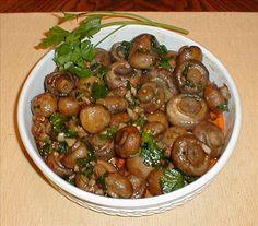 Garlicky Roasted Mushrooms.