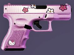 Hello Kitty Pistol  / Check out Charter Arms on Pinterest or visit our web-sight at  CharterFireArms.Com