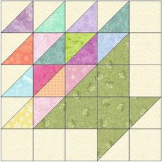 Looking for your next project? You're going to love Easter Basket Quilt Block Pattern by designer FeverishQuilter. - via @Craftsy