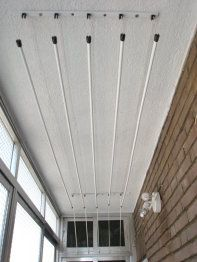 Tendedero de techo / Pendant drying rack **