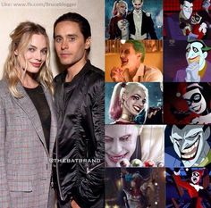 Margot Robbie Jared Leto: Harley Quinn The Joker