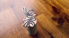 Anello farfalla in argento filo avvolto di AshleyParticaDesign