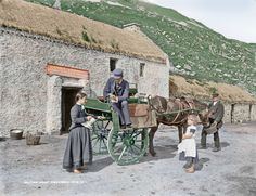 At the Halfway House, Gweedore Co. Donegal in 1884