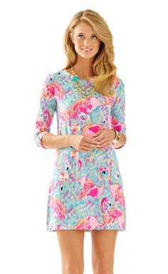 Lilly Pulitzer Linden A-Line t-shirt Dress / preppy southern fashion