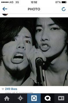 Taka x Take awwwwwee Takahiro Morita, Takeru Sato, One Ok Rock, Rook, My Boys, Japan, Candy, People, Beauty