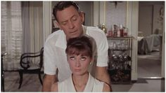 Audrey Hepburn and William Holden in Paris When It Sizzles, 1964