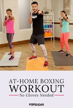 Boxing Workout Punch it out with this guided 15 minute boxing routine! Torch calories and tone key muscle groups all in one workout.Punch it out with this guided 15 minute boxing routine! Torch calories and tone key muscle groups all in one workout. Boxing Routine, Home Boxing Workout, Home Workout Videos, Kickboxing Workout, At Home Workouts, Boxing Boxing, Boxing Fitness, Cardio Boxing, Boxing At Home