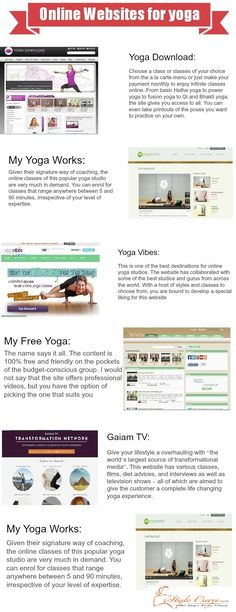 Top 10 Online Websites That Offer Yoga Classes