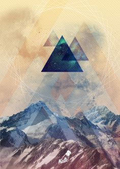 Mountriangles :: Wondering images by giorgia negro.