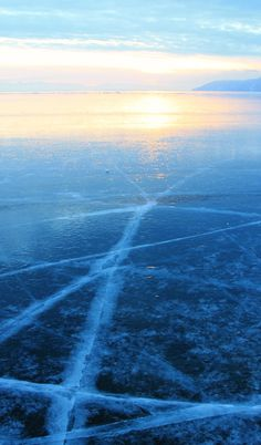 frozen Lake Baikal in Russia // Heart My Backpack