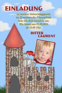 Einladung Kindergeburtstag Ritter Mittelalter #Einladung #Kindergeburtstag  #Ritter #Mittelalter