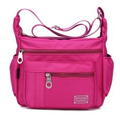 Nylon Waterproof Bags Casual Outdoor Sports Lightweight Shoulder Bags Crossbody Bags For Women is designer, see other cute bags on NewChic. Crossbody Shoulder Bag, Crossbody Bags, Shoulder Bags, Shoulder Muscles, Cute Bags, Casual Bags, The Help, Purses And Bags, Women's Bags