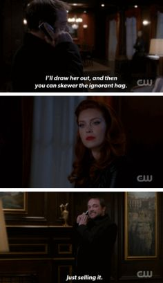 [gifset] 9x21 King Of The Damned #SPN #Crowley #Abaddon