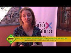 ENSEÑA POR ARGENTINA BUSCA JÓVENES PROFESIONALES - YouTube