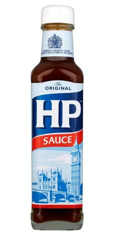 HP Sauce or brown sauce as we always called it. Hp Sauce, Cooking Sauces, Cooking Tips, Hamburgers, Sauce Steak, Barbecue, Tamarin, Brown Sauce, British Things