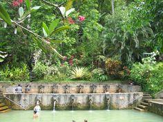 air panas banjar - spiritual baths, West & North Bali