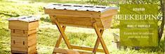 Beekeeping via Williams Sonoma. Purty...