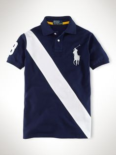 "Polo Ralph Lauren sash ""Big Pony"" polo shirt. Again, very cool."