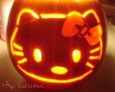 hello kitty pumpkin 2006