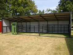 Sheds, Portable Livestock Shelters, Calving and Loafing Sheds, and Horse Barns - GoBob Pipe and Steel