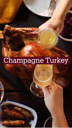 Thanksgiving Recipes, Fall Recipes, Holiday Recipes, Great Recipes, Cooking Recipes, Healthy Recipes, Nouvel An, Turkey Recipes, The Best