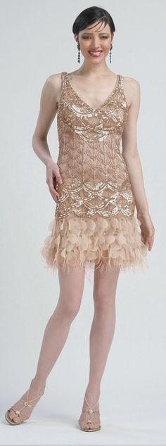 Beige Retro Inspired Short Dresses By Sue Wong by at eDressMe Vintage Style Dresses, Unique Dresses, Vintage Outfits, Short Dresses, Xv Dresses, Dress Long, Pretty Dresses, Vintage Clothing, Fashion Dresses