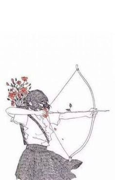 Indian Girl Bow And Arrow Drawing ink art by ChicCharcoals . Cute Couple Wallpaper, Matching Wallpaper, Iphone Wallpaper Couple, Wallpaper Casais, Wallpaper Backgrounds, Couple Drawings, Art Drawings, Couple Fotos, Arrow Drawing
