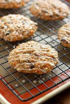 carrot applesauce cookies - these are yummy and the kids loved them