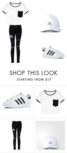 """""""mall day"""" by ashantiagosto1313 on Polyvore featuring adidas, WithChic and Miss Selfridge"""