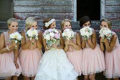 Vintage glam cuties: http://www.stylemepretty.com/canada-weddings/manitoba/winnipeg/2014/11/20/vintage-glam-winnipeg-wedding/ | Photography: Moore - http://moorephotography.ca/