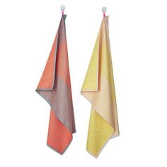 Hay Geschirrtuch Tea Towel 2er-Set, layer dots #HAY #artvoll #TopMarke www.artvoll.de