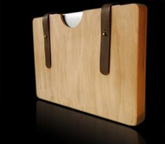 WOODEN LAPTOP CASE FOR MACBOOK AIR on Behance