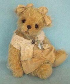 Bears, Teddy Bear, Toys, Sweet, Artist, Pattern, Handmade, Animals, Activity Toys