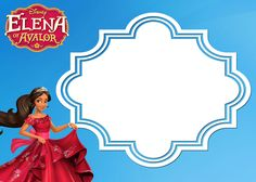 Free Printable Elena Of Avalor Invitation Template  Invitation