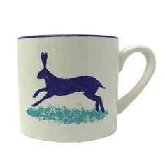 click for more information on Dorset Delft Mug Hare Hinchcliffe & Barber Pack 4