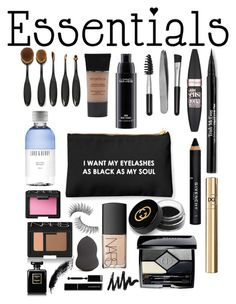 """""""Black"""" by shelbs1234 ❤ liked on Polyvore featuring beauty, Trish McEvoy, Givenchy, Gucci, Maybelline, D&G, Christian Dior, NARS Cosmetics, Sephora Collection and MAC Cosmetics"""