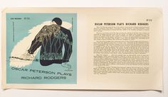 On Sale Jazz Printers proof Oscar Peterson by TerenceLoveVintage