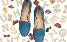 I'm in love with the new #CharlotteOlympia ABC slippers collection. Check out my latest #obsession on giomori.com xx