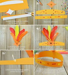 Activité manuelle pour les enfants - Fabriquer une coiffe pour le carnaval de Rio Indian Birthday Parties, Indian Party, Diy For Kids, Gifts For Kids, Olympic Idea, Dream Catcher Mandala, Forest School Activities, Tropical Party, Carnival Costumes