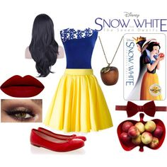 Snow White by slytherin-hades-girl on Polyvore featuring Philipp Plein, Bloch, Emi Jewellery, Lanvin, Sagaform, women's clothing, women's fashion, women, female and woman