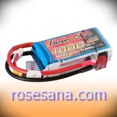 Gens ace 1000mAh 11.1V 25C 3S1P Lipo Battery Pack