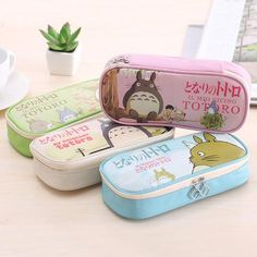 Cheap leather pencil case, Buy Quality pencil case directly from China my pencil case Suppliers: Cute Cartoon My Neighbor Totoro Pu Leather Pencil Case Stationery Storage Organizer Bag School Supply Escolar Papelaria Zipper Pencil Case, Leather Pencil Case, Pu Leather, Pencil Pouch, Pencil Case Organizer, Pencil Cases For Girls, School Pencil Case, Cute Stationary, Shopping